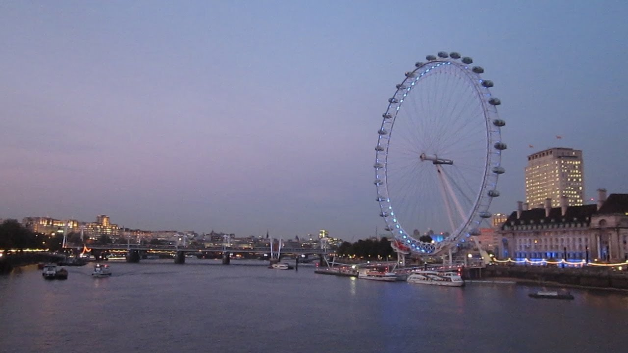 london eye giant ferris wheel youtube