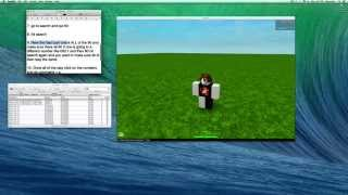 How To Speed Hack On Roblox (MAC OS X!)