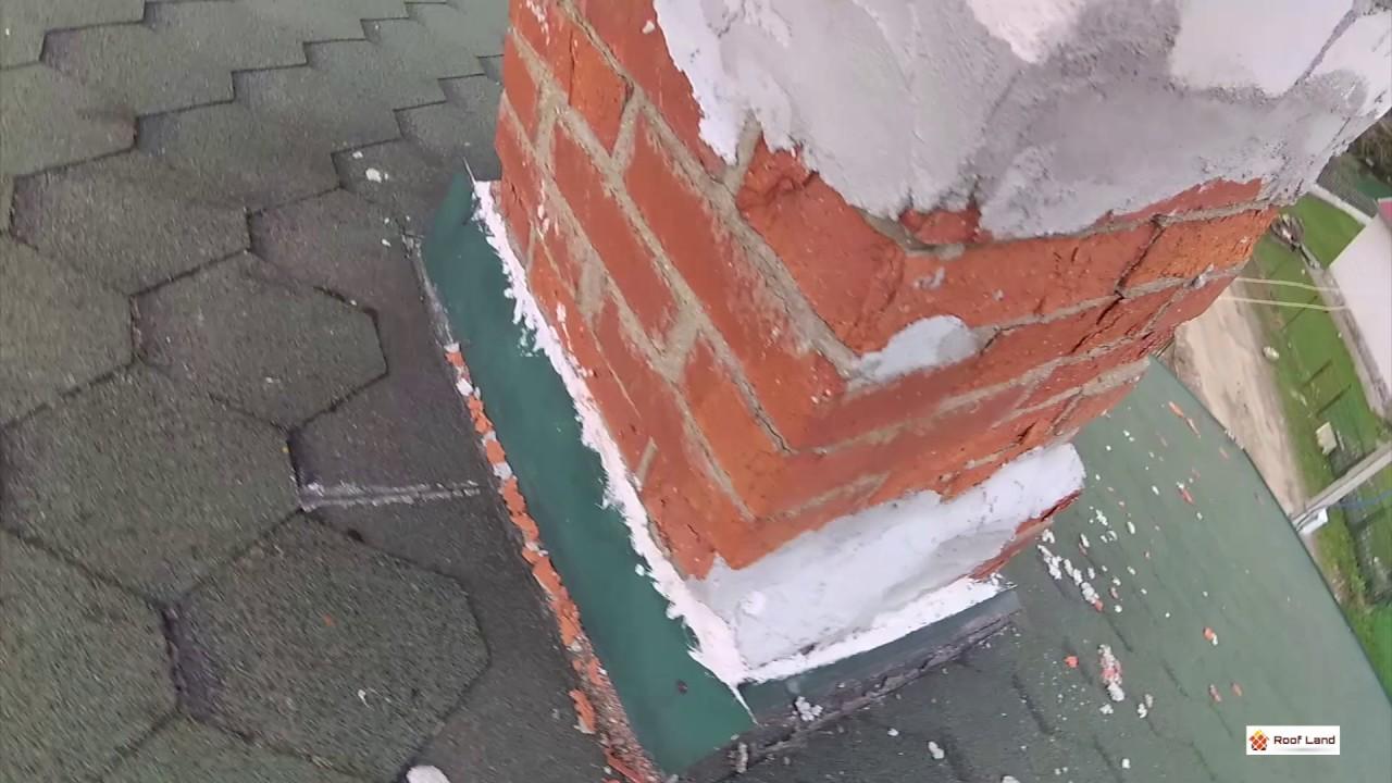 Течет крыша возле дымохода что делать ремонт дымоходов харьков