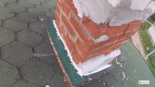 видео Труба через металлочерепицу: надежный проход и примыкание дымохода