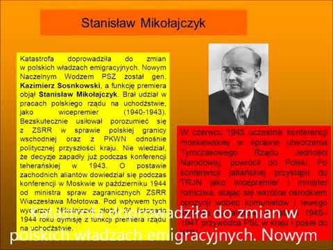 Historyczne spory   Stanisław Mikołajczyk
