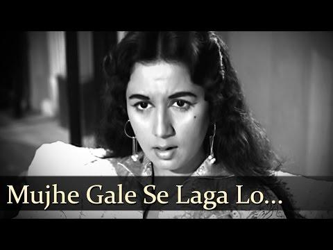 Mujhe Gale Se Laga Lo  Nanda  Sunil Dutt  Aaj Aur Kal  Sad Songs  Ravi