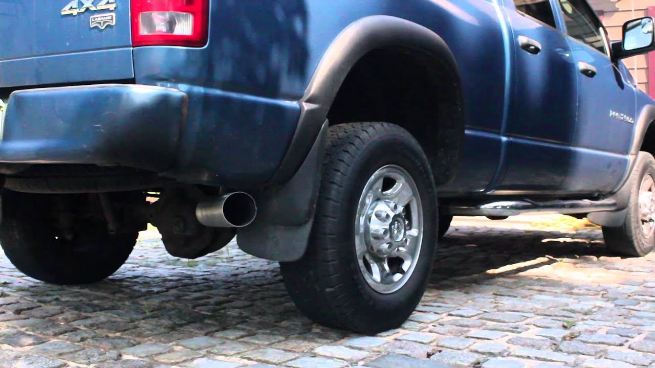2003 Dodge Ram 2500 5 9L Cummins MBRP 4