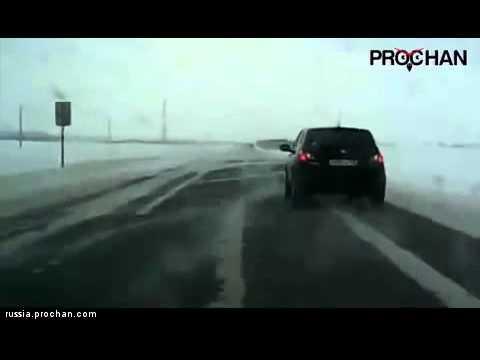 Car Flew into a Ditch / ДТП....
