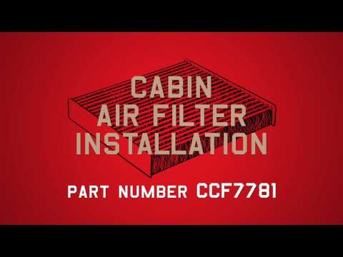 Champion Cabin Air Filter Installation - Part# CCF7781