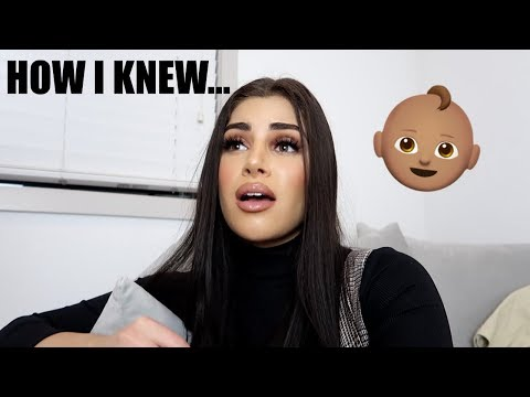 HOW I KNEW I WAS PREGNANT! My Signs & Symptoms!