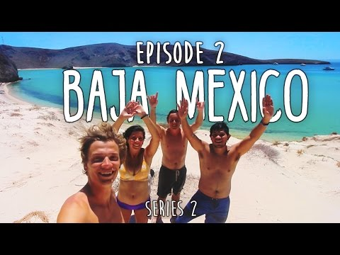 HOW TO TRAVEL CENTRAL AMERICA ON $1000 - Ep2 - BAJA MEXICO