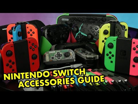 Nintendo Switch Accessories Buyers Guide + Giveaway!