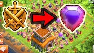 Reach to legend at th8 in clash of clans(hindi)