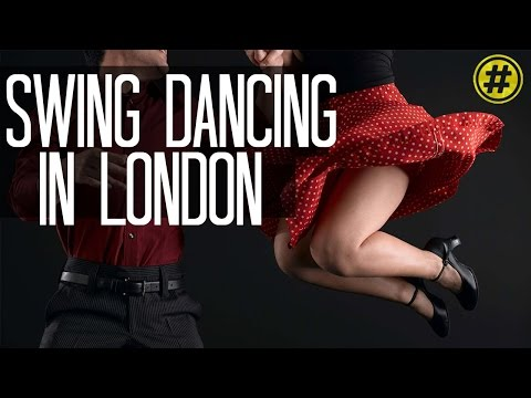 VINTAGE SWING DANCING IN LONDON | LEARN HOW TO SWING DANCE | LONDON TRENDING