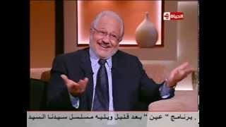 بوضوح - كلام محترم من الفنان خالد زكى على الزعيم عادل امام ومسلسل صاحب السعادة ودور وزير الداخلية