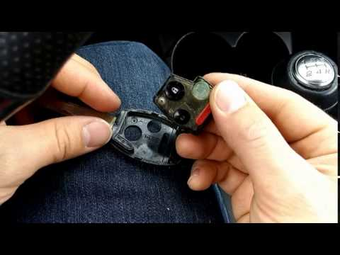 Honda Key Fob Remote Battery Replacement for Civic, Accord, Fit, CRV, & Pilot - YouTube