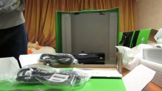 Unboxing Xbox One Forza Motorsport 5 Bundle Распаковка