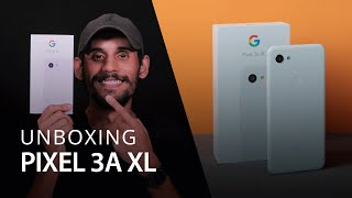HANDS-ON PIXEL 3A XL [Unboxing + Grabr]