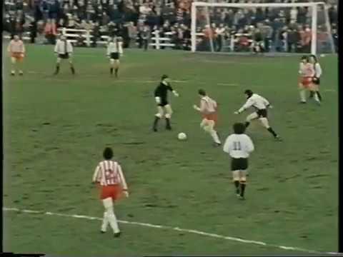 Sligo Rovers v Bohs and Drogheda 1977 NO SOUND
