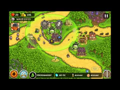 Kingdom Rush Frontiers - Lost Jungle 3 Stars E9