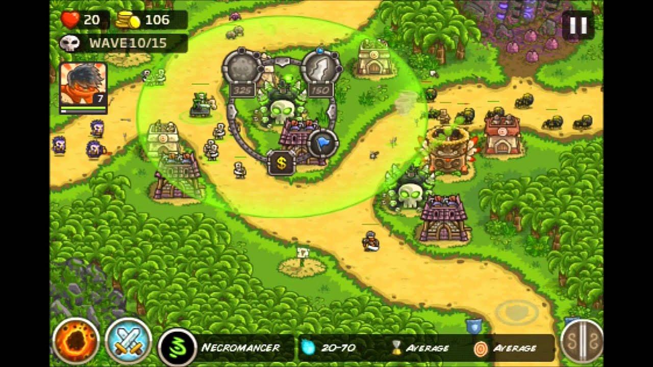 Kingdom Rush Frontiers - Lost Jungle 3 Stars E9