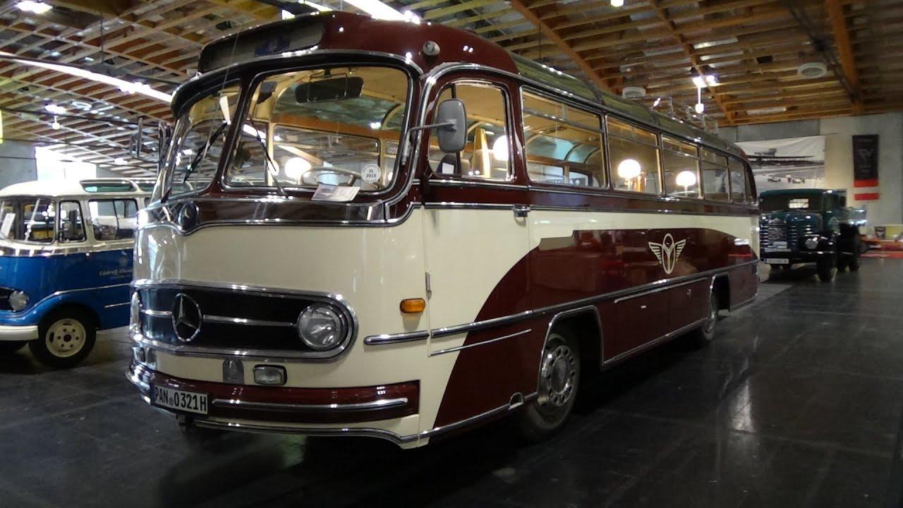 1960 - Mercedes-Benz O321H Omnibus - Exterior and Interior ...
