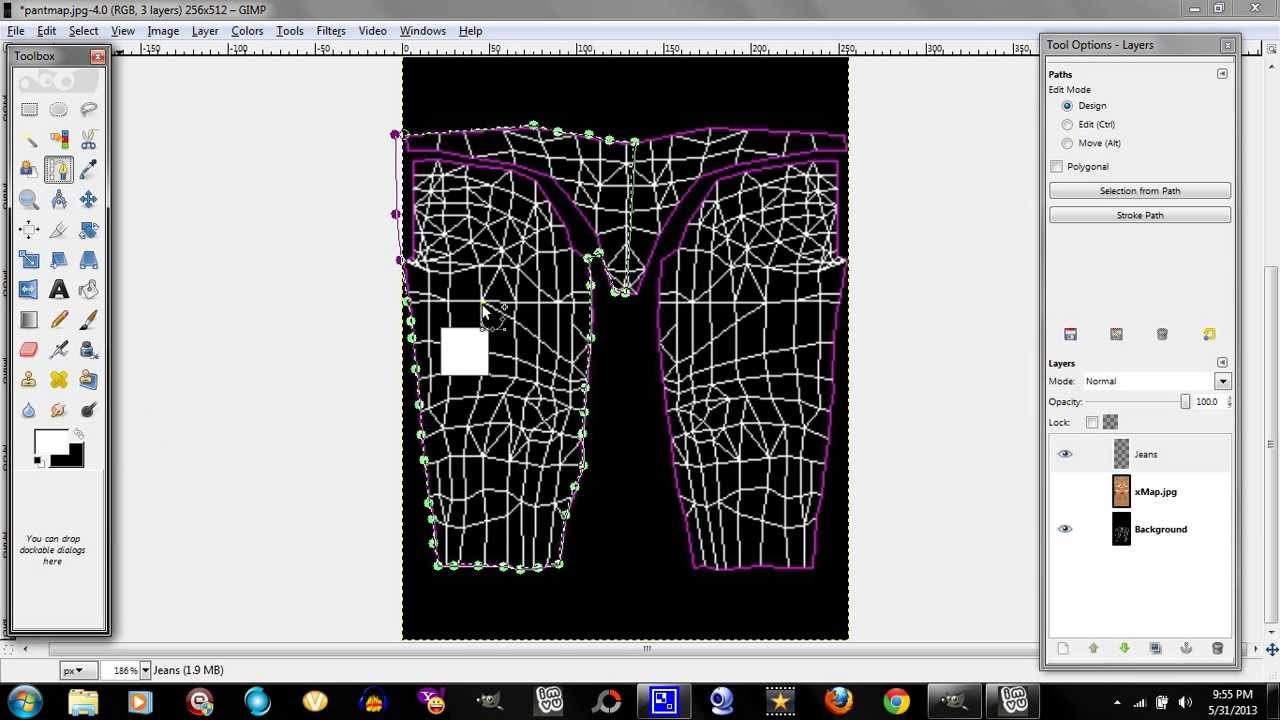 Gimp How To Develop Your Own Jean Texture Imvu Youtube