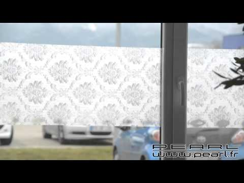 Nx8076 Film Auto Adhésif Décoratif Pour Vitre Et Fenêtre Retro