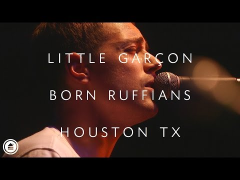 Born Ruffians | Little Garçon LIVE | Houston Tx