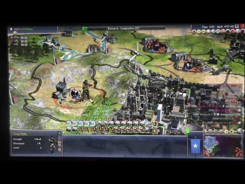 Civilization IV Part 27 (w/ Dad) - Julius Caesar War (4) - Mobile Artillery and Mobile SAM