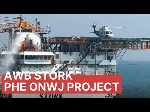Accommodation Work Barge Stork Project PHE ONWJ