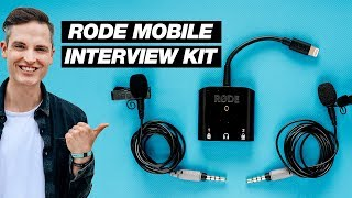 New iPhone Microphone Kit for Interviews — Rode SC6-L Review