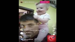Дмитрий Дмитренко с дочкой Василисой прямой эфир 11 11 2018 Дом2 новости 2018