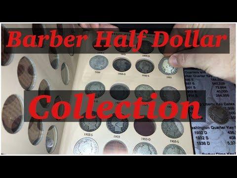 Barber Half Dollar Collection
