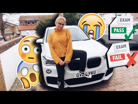 DID I PASS MY DRIVING TEST?! PASS OR FAIL?!?!