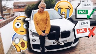 One of SaffronBarkerVlogs's most viewed videos: DID I PASS MY DRIVING TEST?! PASS OR FAIL?!?!