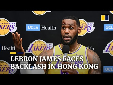 Hong Kong basketball fans angered by LeBron James' comment on Daryl Morey's tweet