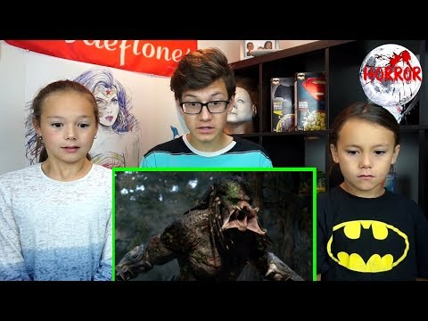 THE PREDATOR Final Trailer REACTION