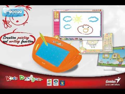 Tablet de dibujo Genius Kids  YouTube
