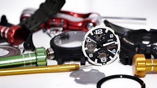 Whats inside GSG-100 Mudmaster series G-Shock watches