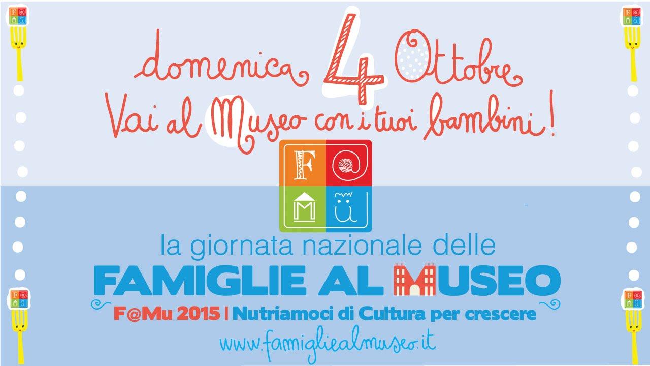 giornata nazionale famiglie al museo