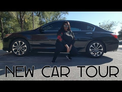 My New Car Tour 2018   Honda Accord Sport