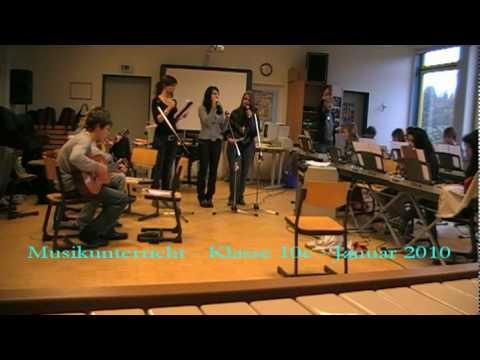 Musikunterricht Klasse 10e (Januar 2010).avi