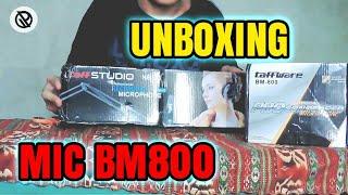 Unboxing Mic BM 800 - Harga Terjangkau