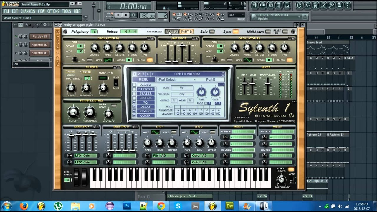 sylenth1 fl studio