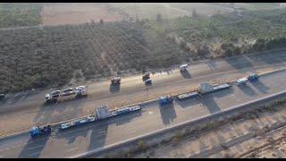EGL completes the transport of Assuit New Power Plant جلوبال لوجيستكس المصرية محطة غرب اسيوط
