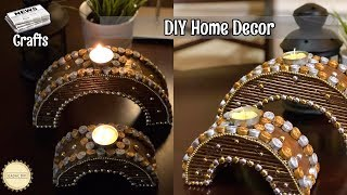 How to make newspaper centerpiece    Recycle your old Cardboard and Newspaper   Best out of waste