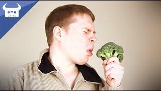 Repeat youtube video BROCCOLI BARS 1: ALLERGIC REACTION TO BROCCOLI | Dan Bull