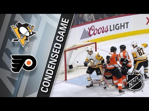 Pittsburgh Penguins vs Philadelphia Flyers – Mar. 07, 2018 | Game Highlights | NHL 2017/18. Обзор