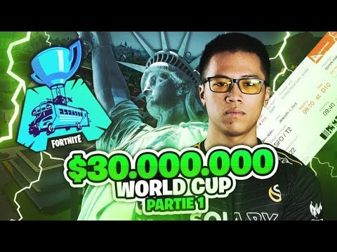 JE PARTICIPE A LA WORLD CUP DE NEW YORK - QUALIFIER DUO Ft HUNTER 30 MILLIONS $