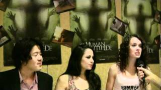 Interview With The Cast Of The Human Centipede - HorrorFind