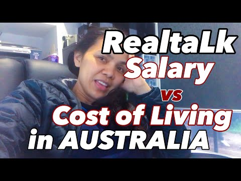 SALARY VERSUS THE COST OF LIVING IN AUSTRALIA | REAL TALK