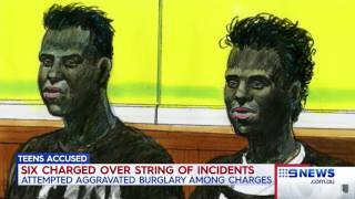Seven News.  Six Blacks Charged. (St Albans And Greensborough Home Invasions)