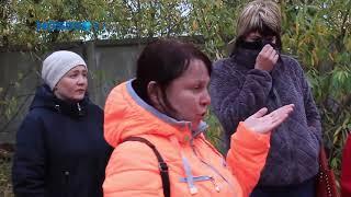 Родители заключённых ИК-6 во время бунта